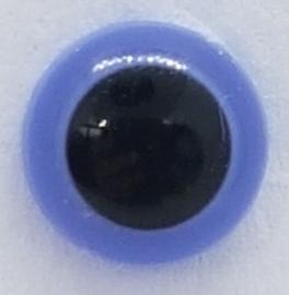 Veiligheidsogen Paars 6mm (2 stuks)