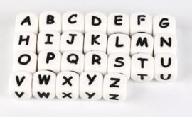 Siliconen Letterkralen 12mm