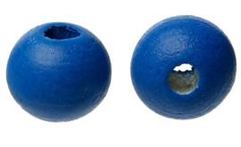 8mm Ronde Donker Blauwe Kralen (40 stuks)