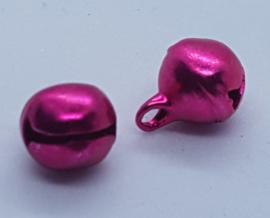 10mm Donker Roze Belletjes per stuk