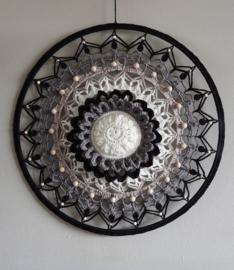 Haakpakket Funny Mandala Sunflower Classic 40 cm