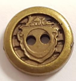 Brons Kleurige Kunststof Knopen 13mm