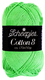 Scheepjes Cotton 8 nr 517 Lime
