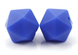 Hexagon Kraal Donker Blauw 14mm