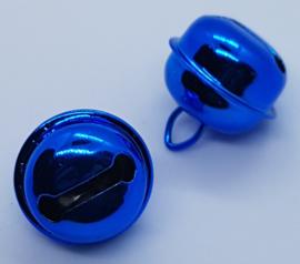 22mm Blauwe Belletjes (5 stuks)