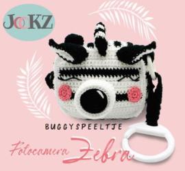 Buggyspeeltje fotocamera Zebra