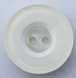 Witte Kunststof Knopen 23mm