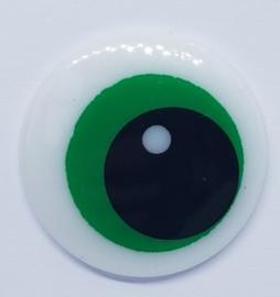 Veiligheids Ogen Groen 14 mm (2 Stuks)