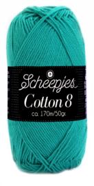 Scheepjes Cotton 8 nr 723 Smaragd Groen