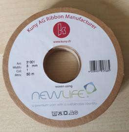 Wit Newlife Satijn Lint 3mm