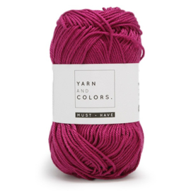 YARN AND COLORS MUST-HAVE 050 PURPLE BORDEAUX