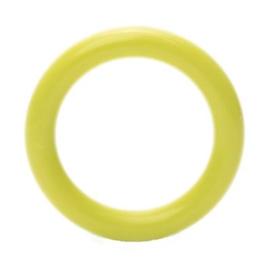 Plastic ringetjes - 40 mm - Geel Groen
