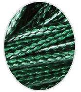 Wax koord 1mm  Donker Groen