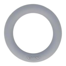 Opry Siliconen Bijtring Rond 55mm - 004 Grijs