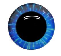 Blauwe Fantasie Veiligheids Ogen 12mm