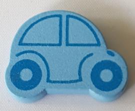 Auto Kraal Licht Blauw 25x18mm