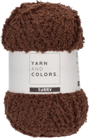 YARN AND COLORS FURRY 028 Soil