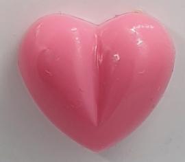 Veiligheidsneus Roze Hartje 13 mm