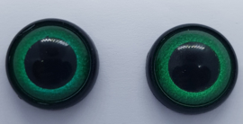 Groene Fantasie Veiligheids Ogen 12mm