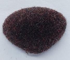 Veiligheidsneus Velours Bruin 11mm