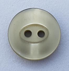 Grijze Knoop 15 mm