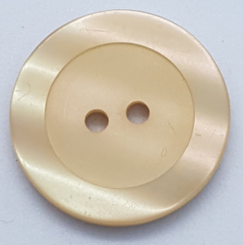 Creme Kleurige Knoop 23 mm