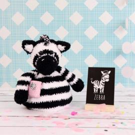 Garenpakket Pop-up Zack de Zebra
