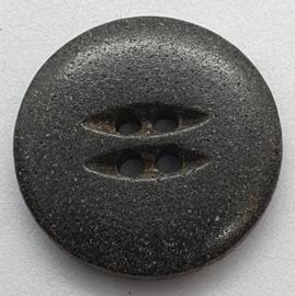 Zwart Grijze Knoop 23 mm
