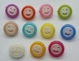 Smiley knoop 13mm