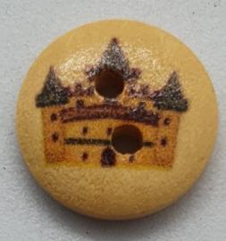 Knoop met Kasteel VIII 15mm
