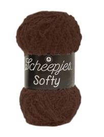 Scheepjes Softy 474 Donker Bruin