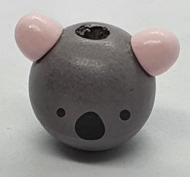 Koala Kraal Grijs & Roze