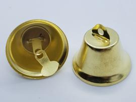 Goud Kleurige Belletjes Bel 26mm (per stuk)
