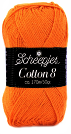 Scheepjes Cotton 8 nr 716 Oranje