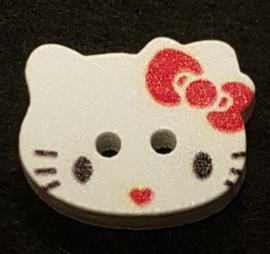 Hello Kitty Knopen 20x16mm