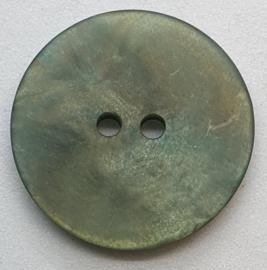 Groen Grijze Knoop 23 mm
