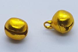 10mm Goud Gele Belletjes per 10 stuks