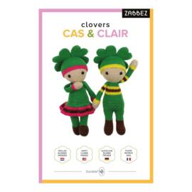 Zabbez clovers Claire & Cas