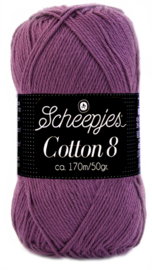 Scheepjes Cotton 8 nr 726 Hyacinth