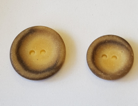 Bruine Beige Knoop 18 & 23 mm