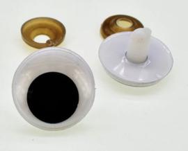 Veiligheids Wiebel oogjes 20mm
