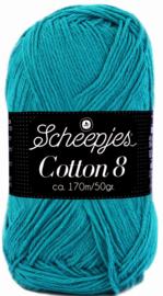 Scheepjes Cotton 8 nr 724 Petrol