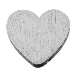 Hartjes Kraal Zilver Kleurig  21mm