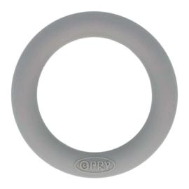 Siliconen Bijtring Rond 55mm - Grijs