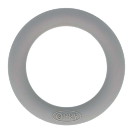 Opry Siliconen Bijtring Rond 55mm - 002 Donker Grijs
