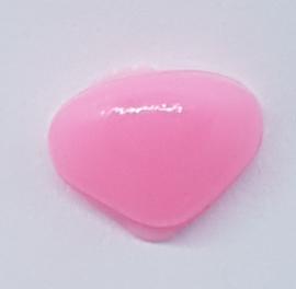 Veiligheidsneus Roze 9 mm