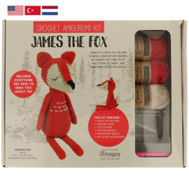 Tuva Haakpakket Amigurumi James the Fox