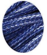 Wax koord 1mm  Donker Blauw
