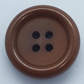 Bruine Knoop 22mm
