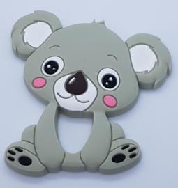 Siliconen Bijtring - Koala Grijs